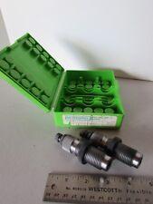 Custom Redding 2-Die Set 357 Herrett Storage Case Made In USA Reloading