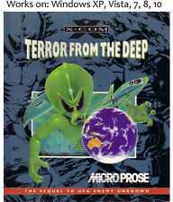 X COM: Terror from the Deep 1995 PC Game