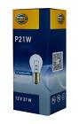 Hella 10 Stück 21W Glühlampe Rücklicht Bremslicht Lampe  P21W 12V BA15s klar