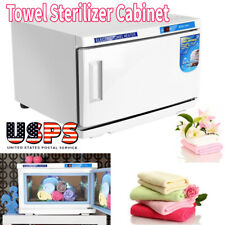 110v 2 in 1 UV Towel Sterilizer Warmer Automatic Temperature Control Equipment
