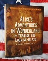NEW Alice in Wonderland Lewis Carroll Deluxe Hardcover Classics with Dustjacket