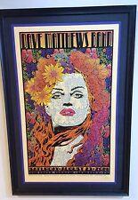 Chuck Sperry Dave Matthews Band Silkscreen Poster - Custom Framed Gold Variant