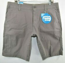 New Columbia Flex Mount Adams Shorts Stretch Regular Fit Hiking Men Size 36 x 10
