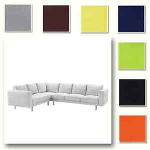 Custom Made Cover Fits IKEA Norsborg Corner Sofa 2+3/3+2, Sectional Sofa Cover