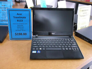 Refurbished Acer Travelmate B113