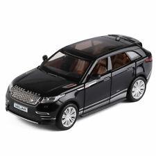 1:32 Velar SUV Off-road Model Car Diecast Gift Toy Black Pull Back Kids