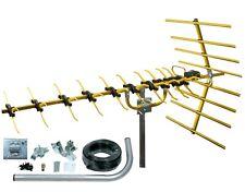 Antena De TV Digital Kit 48 Element HD Tdt Exterior Loft Con Arial 4G Filtro