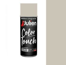 AEROSOL BOMBE PEINTURE GRIS GRAIN DE SABLE 400ML SATIN JULIEN COLOR TOUCH