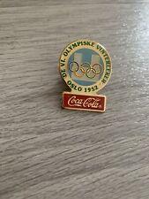 Vintage Collectible Coca-Cola - Winter Olympics -  Oslo 1952 - Pin Badge