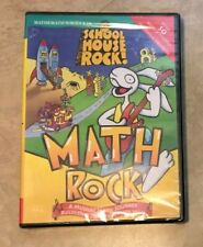 Schoolhouse Rock Musical Math Rock Ages 8-10 Pc New factory sealed in Case