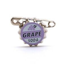 DISNEY STORE AUTHENTIC PIXAR UP GRAPE SODA BOTTLE TOP PIN CARL ELLIE