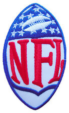 New NFL, National Football League Shield Logo embroidered iron on patch. (i120)