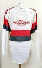 VINTAGE AC MILAN 1990 ADIDAS MEDIOLANUM TRAINING JACKET XL SHIRT ITALY MAGLIA