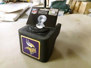 "ShinShield NFL Rubber Trailer Hitch Cover, Minnesota Vikings, 2-1/2"" Ball 1202"