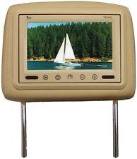 "Tview T921PLTAN 9"" TFT LCD Monitor In Headrest Ir Trans Tan"