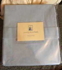"Pottery Barn Kids Sailcloth Panels Curtains 84"" Blue"