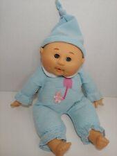 Uneeda 2003 blue stripes sleepy eyes bean pellets thumb sucker baby doll vinyl