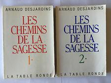 LES CHEMINS DE LA SAGESSE 2 VOL 1987 DESJARDINS