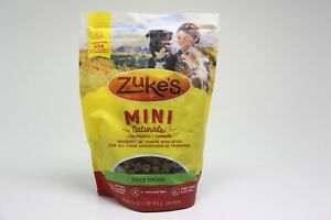 3 PACK Zuke's Mini Naturals Duck Recipe BB 12/1/19 U8