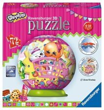 RAVENSBURGER SHOPKINS 3D PUZZLEBALL PUZZLE BALL 72 PIECES - BRAND NEW & SEALED!