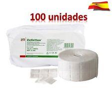 TOALLITAS DE CELULOSA-100 unidades- Uñas de gel, acril,esmaltes permanentes
