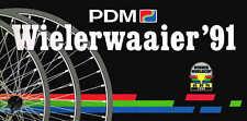 Plaquette présentation équipe PDM 1991 20x9,8à l'italienne 34pp Kelly Van Poppel