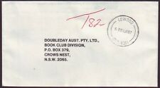 "QUEENSLAND POSTMARK ""LOWOOD"" ON 1987 TAXED COMMERCIAL COVER (PS6037)"