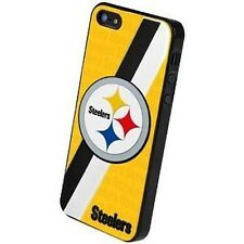 iPhone 5 Pittsburgh Steelers NFL 3D Faceplate Protective Hard Case Cover New