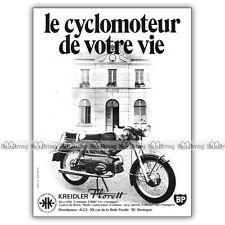 PUB KREIDLER FLORETT 50 RS KRS - Moped Advert / Publicité Cyclo-Sport de 1971 #2
