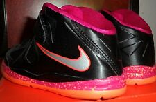 NIKE LEBRON X 10 (PS) SZ: 13.0 C FIREBERRY METALLIC SILVER RARE ONLY ONE IN EBAY