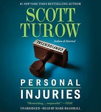 PERSONAL INJURIES unabridged audio book CD by SCOTT TUROW - Brand New - 16.5 Hrs