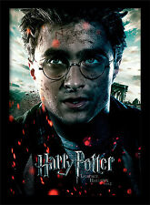 Harry Potter Deathly Hallows Part 2 Harry - Framed 30 x 40 Official Print