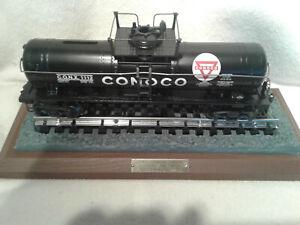K-Line 639104 1934 Conoco O Gauge Rivited Tank Car Bank