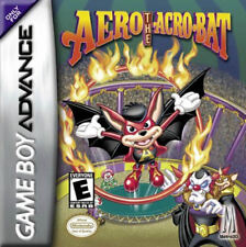 Aero the Acrobat GBA New Game Boy Advance