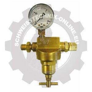 Anbau-Feinregler für Sauerstoff, einstellbar von 0,2 - 1 bar (Druckminderer O2)