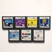 Nintendo DS Game lot of 7 - All Tested Working - Game Cartridges Only
