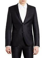 "Topman Black Ultra Skinny Suit Jacket Size 42"" rrp £90 DH004 SS 17"