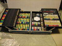 Art Set for Kids, 132 pc., w/paints, markers, colored pencils, crayons, NIB