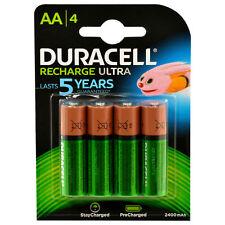 4x Duracell Recharge Ultra Akku AA Mignon HR06 2400 mAh Precharged 4 Stück
