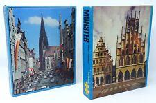 MÃœNSTER Rathaus Prinzipalmarkt Lamberti 2x PUZZLE 500 Teile 36 x 50 cm ALT RAR