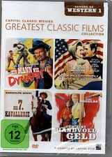 DVD | 4 Filme | Greatest Classic Films Collection - Heroes of Western 1 | Neu