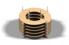 Gleiswendel Spur N, Spur Z zweigleisig, 5 Umdrehungen CNC gefertigt !!!