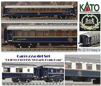 KATO-11 CIWL ORIENT EXPRESS Nostalgie-Istanbul WAGON-LITS WLA LX20 3551A SCALA-N