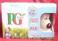 160 PG Tips Tea-bags (expired) + GROMIT Thermo-Nose Mug