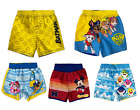 Paw Patrol/ Batman/  Baby Shark/ Mickey Mouse Baby Boy & Toddler Boy Swim Trunks