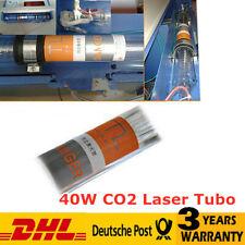 40W CO2 Laser Tube 50mm 720mm PER Laser Engracer Cutter Raffreddamento ad Acqua