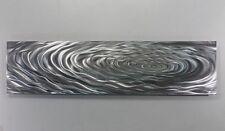 Metal Abstract Modern Silver Wall Art Sculpture By Jon Allen  RE 48