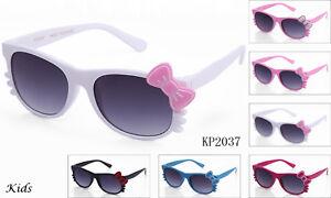Hello Kitty Kids Sunglasses Cute Baby Girls Boys Glasses UV Protected Lead Free