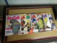 7 issues bird talk magazine 1997 Jun, JUL, AuG, sep, OCT, NOV, AND Dec.