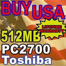 512MB Toshiba Libretto U100 U105 Series Memory RAM